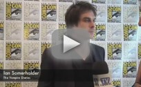 Ian Somerhalder Comic-Con Interview
