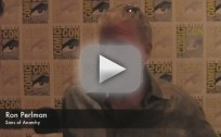 Ron Perlman Comic-Con Interview