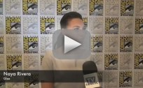 Naya Rivera Comic-Con Interview