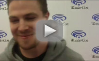 Stephen Amell WonderCon Interview