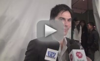 Ian Somerhalder PaleyFest Interview
