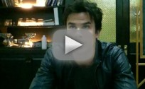 "TVD Set Scoop: Ian Somerhalder on Hatred for Katherine, ""Brutal Flashbacks"" to Come & More"