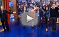 How I Met Your Mother Cast on The Late Show