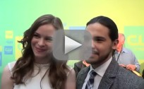 Danielle Panabaker and Carlos Valdes Interview