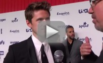 Aaron Tveit Upfront Interview