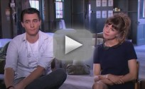 Katja Herbers and Harry Lloyd