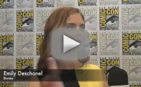 Emily Deschanel Comic-Con Interview