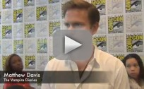 Matthew Davis Comic-Con Interview