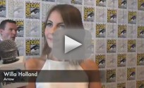 Willa Holland Comic-Con Q&A