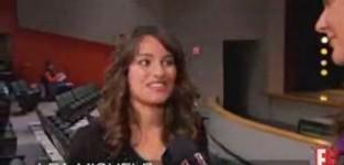 Lea Michele Interview