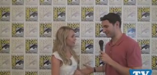 Brittany robertson comic con interview