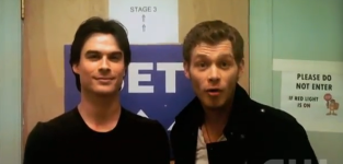 The vampire diaries cast vote for us