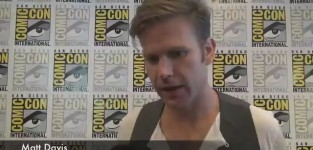 Matt davis comic con interview 2012