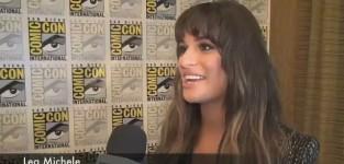 Lea Michele Comic-Con Interview