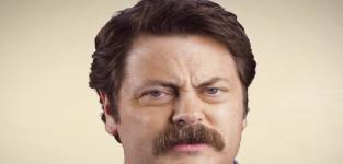 Nick Offerman Mustache PSA: It Gets Fuller!