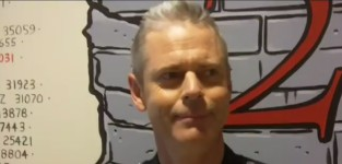 C. Thomas Howell Set Interview