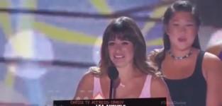 Lea Michele Speech