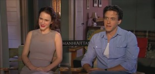 Rachel brosnahan and ashley zukerman interview
