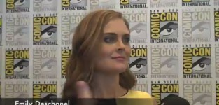Emily deschanel comic con interview