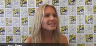 Leah pipes comic con interview