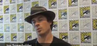Ian Somerhalder Comic-Con Q&A
