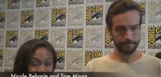 Nicole beharie and tom mison at comic con
