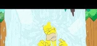 Homer simpson accepts ice bucket challenge