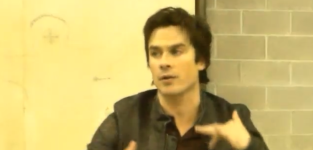 Ian somerhalder speaks on bamon