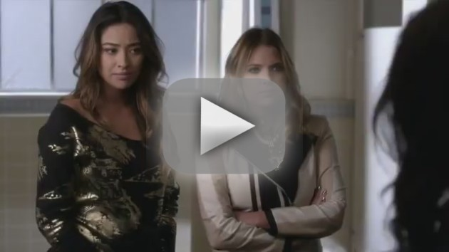 Pretty Little Liars Clip: Lip Locking with the Devil