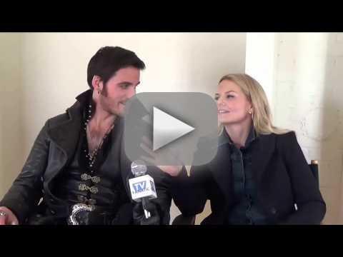 Colin O'Donoghue and Jennifer Morrison Set Interview