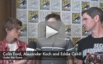 Colin Ford, Alexander Koch and Eddie Cahill Interview
