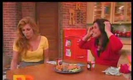 Connie Britton on Rachael Ray