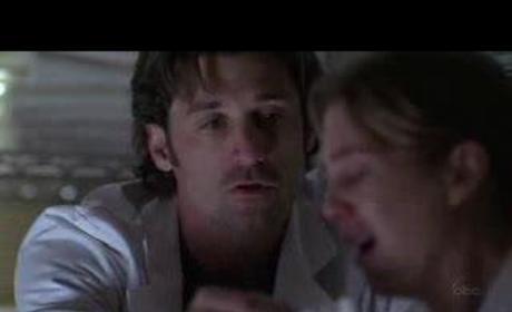 Derek Comforts Meredith
