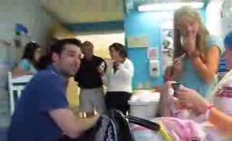 Patrick Visits a Cancer Patient