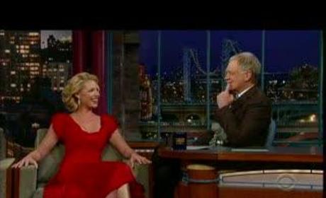 Heigl on Letterman