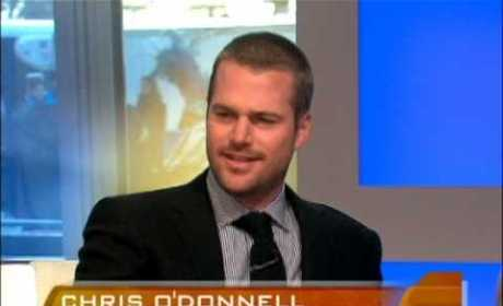 Chris O'Donnell on the Early Show