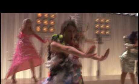 Backstage on Glee