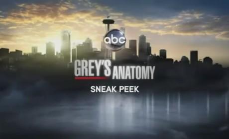 "Grey's Anatomy Sneak Peek: ""Adrift and at Peace"""