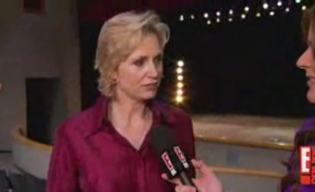 Jane Lynch on Glee Character, Nomination