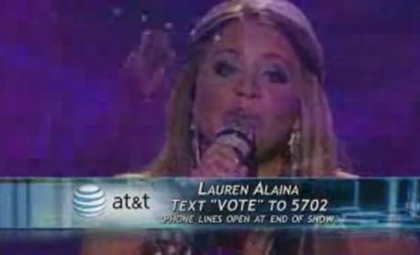 Lauren Alaina - The Climb (American Idol)