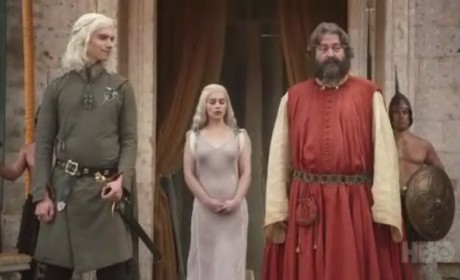 Game of Thrones Clip: Daenerys Meets Khal Drogo