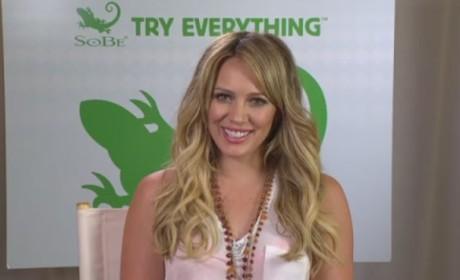 Hilary Duff Video Interview