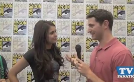 TV Fanatic to Nina Dobrev: About That Kiss...