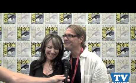 Katey Sagal and Kurt Sutter: TV Fanatics!