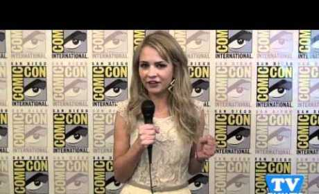 Brittany Robertson is a TV Fanatic!