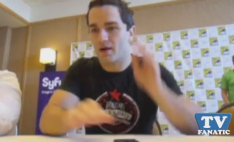 Sam Witwer at Comic Con
