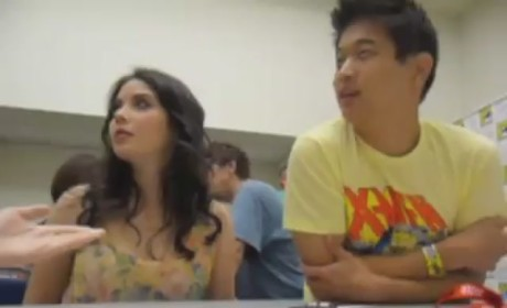 Grace Phipps and Hi Hong Lee at Comic Con
