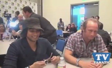 Vik Sahay and Scott Krinsky at Comic Con
