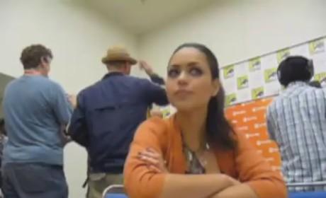 Alyssa Diaz at Comic Con