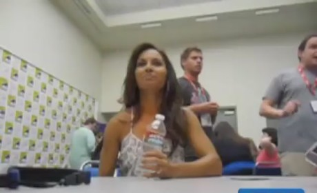 Salli Richardson at Comic Con